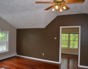 Stearns Painting pays attention to detail on interior paint jobs.