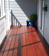 Stearns Painting repairs and refinishes decks.
