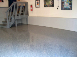 Epoxy floors are durable.