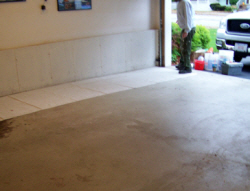 Epoxy floors are excellent for garages.