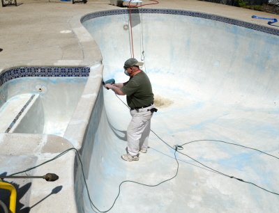 Stearns Painting specializes in pool coatings and repair.