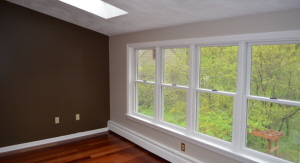 Stearns Painting takes extra care around windows and doors.
