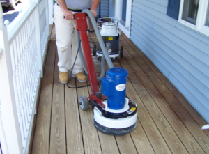 Stearns Painting cann= make your deck look like new.